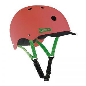 casco-leben-rojo-verde
